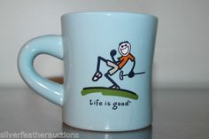 Life-is-good-Golfing-Mug-Do-what-you-like-Like-what-you-do-Blue-golf-gift