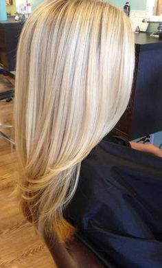 The perfect blonde. Try Aloxxi hair color the next time you want to go blonde. Hair Day, New Hair, Hair Color And Cut, Gorgeous Hair, Beautiful, Hair Color Highlights, Great Hair, Pretty Hairstyles, Summer Hairstyles