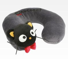 Chococat Travel Pillow: Bowtie. BRB BUYING THIS