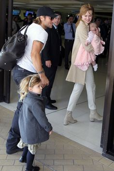 Keith Urban and Nicole Kidman in Sydney