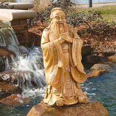 Design Toscano Confucius Statue