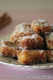 rezetas de carmen: Leche frita