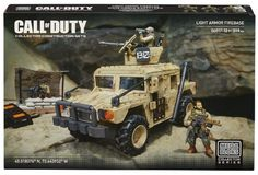 Black Friday 2014 Mega Bloks Call of Duty Light Armor Firebase from Mega Bloks Cyber Monday. Black Friday specials on the season most-wanted Christmas gifts. Building For Kids, Building Toys, Mega Blocks, Kids Blocks, Gun Turret, Lego Army, Black Friday Specials, All Terrain Tyres, Playmobil