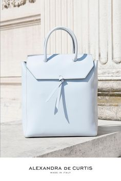 Are you looking for a designer leather handbag? Click through to check out the Loren Tote, handmade in Italy with smooth Italian Leather Handbags, Designer Leather Handbags, Work Tote, Work Bags, Blue Handbags, Purses And Handbags, Best Work Bag, Italian Street, How To Make Handbags