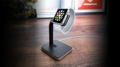 Mophie Unveils an Apple Watch Charging Dock - http://iClarified.com/48485 - Mophie has unveiled the 'watch dock', a new charging stand for the upcoming Apple Watch.