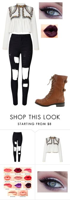 """""""Untitled #193"""" by pufferfishgal on Polyvore featuring Isabel Marant, NYX, Wild Diva, women's clothing, women, female, woman, misses and juniors"""