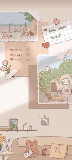 Пин от пользователя Sana на доске Wallpapers (Set) в 2021г | Милые рисунки, Мягкая пастель, Милые каракули