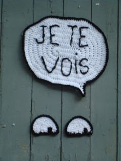 Once upon a time...: Le Yarn Bombing a la (tri)cote / collectif france tricot