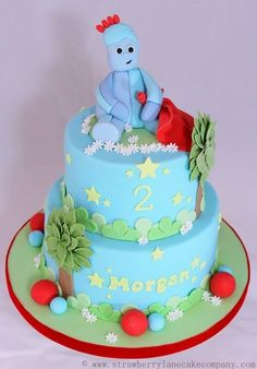 Strawberry Lane Cake Company specialises in unique bespoke wedding cakes, celebration cakes and speciality confections Garden Birthday Cake, Garden Party Cakes, Birthday Cakes, 2nd Birthday, Cbeebies Cake, Lane Cake, Swirl Cake, Character Cakes, Novelty Cakes