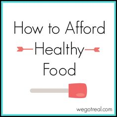 One of the biggest obstacles that I often hear when people begin on the real food journey, is that healthy food is so expensive. Many people feel like they can't afford healthy food. While I do agree, healthy food is expensive, so is just about everything else. I can make meals at home with quality...Read More »