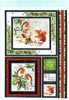 Christmas Toppers For Card Making.344 Best Christmas 3d Decoupage Sheets Toppers Images In