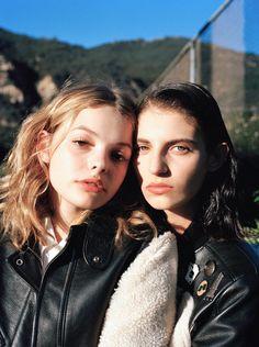 @trulyawanderer Oyster Fashion: 'Alana & Ilana' Shot By Daria Kobayashi Ritch