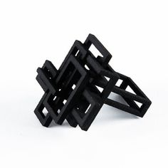 Open Square Ring Black, $34, now featured on Fab.