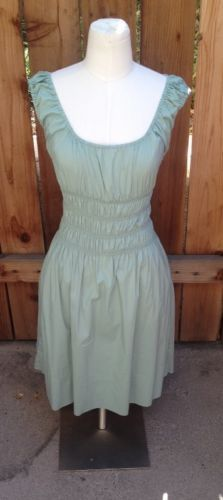 PRETTY Light Green GUESS by MARCIANO Stretch Dress Sz Small