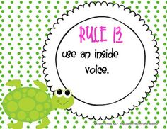 CLASSROOM RULE POSTERS (SEA CREATURES THEMED)
