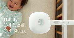 """""""nanit""""  ベビーベッドにモニターを備え付けることで、センサーやカメラで記録した赤ちゃんの様子をアプリで確認できるキットです。 「Nanit Insights」というオプションをつければ、赤ちゃんの睡眠パターン、寝つき、睡眠時間なども記録され、 ヒートマップなどのわかりやすい形で分析結果を知ることができます。"""
