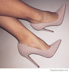 Matte grey shoes style