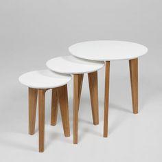 Fjørde & Co Abbey 3 Piece Nest of Tables & Reviews | Wayfair UK