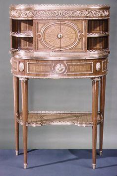Desk (Bonheur du jour) Attributed to Roger Vandercruse, called Lacroix  ca. 1780–90