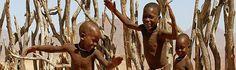 Mozambique children playing.