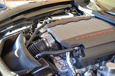 Under the hood of the Corvette, Corvettes