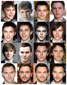 Nicholas Hoult - - - Hicholas gets more and more handsome every day . . .  but I'm going to miss these past several years of his cute stage.