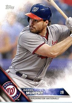 2016 Topps Team Edition #WN-5 Daniel Murphy Washington Nationals Baseball Card-MINT