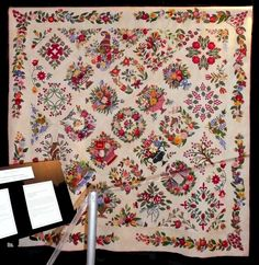 Sue Garman: February 2015  Margo Hardie of Lake Haven NSW, Australia, made Gorsuch Family Quilt Circa 1840 Revisited