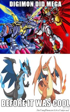 Digimon was mega first