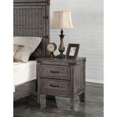 Legends Furniture Storehouse Nightstand - ZSTR-7015