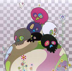 Takashi Murakami print.