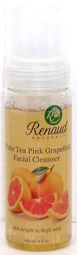 White Tea Pink Grapefruit Facial Cleanser