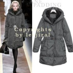 Button-Down Padded Coat