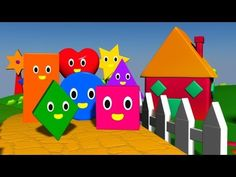 ▶ The Shapes Song - YouTube  For FOUR year olds. Use this song (The Shapes Song) from YouTube. Then for the activity have the students sway back and forth as they sing to feel the rhythm. A lead topic would be differentiating between shapes
