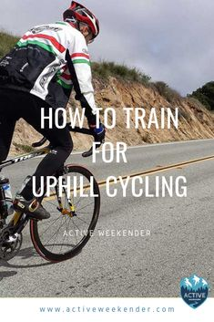 Learn how to train for uphill cycling, including exercises you can do on and off your standard bicycle to improve your endurance and overall wind. Cycling Motivation, Cycling Quotes, Cycling Tips, Cycling Workout, Road Cycling, Bicycle Quotes, Bicycle Workout, Cycling Machine, Bike Pump