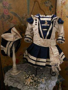 ~~~ Most Elegant French Bebe Sailor Costume ~~~