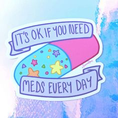 did you take your meds today? Mental And Emotional Health, Mental Health Matters, Mental Health Quotes, Mental Illness Awareness, Lupus Awareness, Stress, Invisible Illness, Chronic Illness, Self Care