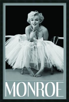 Marilyn Monroe - Ballerina by Milton H. Greene Framed Photographic Print