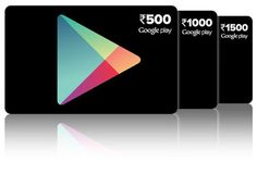 Google Play Gift card now available in India