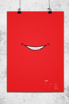 Carteles minimalistas de las películas de Pixar