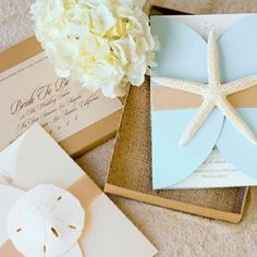 Beach theme wedding invitations are a great way to set the tone and give your guests an idea of what's to come. A beach theme wedding invitations Here are a few ideas to help inspire you. Couture Wedding Invitations, Beach Theme Wedding Invitations, Beach Wedding Reception, Wedding Events, Our Wedding, Destination Wedding, Wedding Favors, Dream Wedding, Wedding Decorations