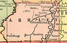 Hamburg, Arkansas (Ashley County)