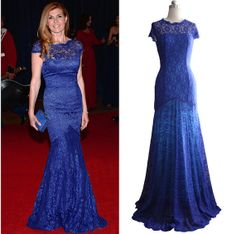 2014 NEW Spring royal blue mother of the groom by DesignBridal, $138.00
