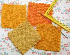 Patterns on weave-it looms