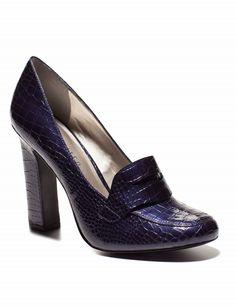 High Heel Penny Loafers | Women's Shoes | THE LIMITED