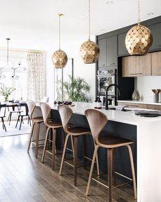 Home Decor Kitchen .Home Decor Kitchen White Wood Kitchens, Modern Farmhouse Kitchens, Home Kitchens, Wooden Kitchens, Home Decor Kitchen, Kitchen Furniture, New Kitchen, Kitchen Ideas, Awesome Kitchen