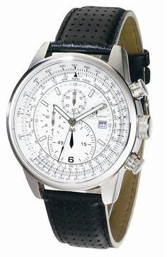 Charles-Hubert - Stainless Steel Case Chronograph Quartz Watch//