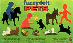 Fuzzy Felt :: Animals | Ghost of the Doll