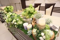 Green Wedding, Diy Wedding, Wedding Flowers, Church Wedding Decorations, Table Decorations, Wedding Preparation, Wedding Images, Rustic Style, Dessert Table