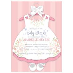 Nice Create Own Baby Shower Invitations for a Girl
